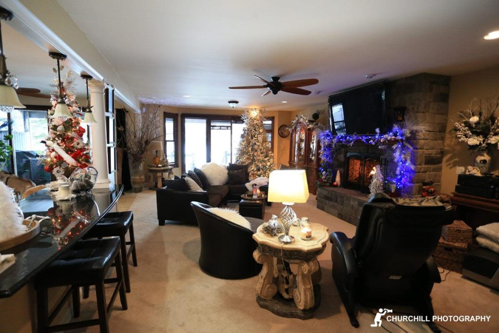 Realtor Photography: Living room view 2